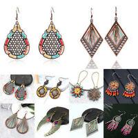 Women's Gold/Silver Women Plated Tassel Drop Dangle Earrings Jhumka Jewelry