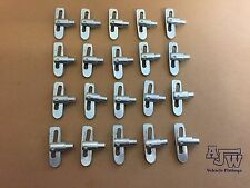 20 Antiloose AntiLuce Fastener Weld On M8 8mm Drop Lock Trailers Horsebox Truck