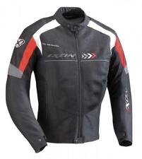 Chaqueta, Jacket  Ixon Alloy Perforada Negro-Rojo T.M