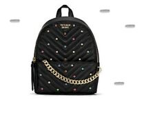 VICTORIA'S SECRET MINI Quilted BACKPACK MULTI COLOURED STUDS BNWT