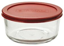 Anchor Hocking Round Xtra Strong Glass 2 Cup/473ml Storage Jar With Airtight Lid
