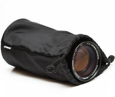 "Canon Soft Lens Black Case Pouch For Telephoto Zoom Prime Lenses 7"""