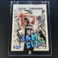 DAVID ROBINSON 1997 FLEER ULTRA #12 JAM CITY HOLOFOIL INSERT CARD SPURS NBA HOF