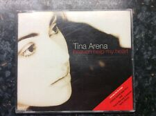 TINA ARENA Heaven Help My Heart CD 4 Track Radio Version Pic Disc B/w Album