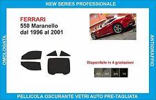 window tint glass Ferrari 550 Maranello from 1996-2001 complete kit