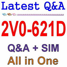 Certified Professional 6 Data Center Virtualization 2V0-621D Exam Q&A PDF+SIM