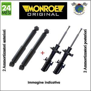 Kit Ammortizzatori Ant+Post Monroe Original Per Fiat 128 Seat Zastava 101