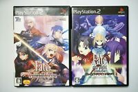 Playstation 2 Fate Unlimited Codes + Fate Stay Night Japan PS2 game US Seller