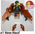 Lego - Figurine Minifig Ninjago Sqiffy pirate + flyer aile épée njo203 70604 NEW