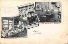Frank Martini Confectionery Cafe E Water Street Milwaukee WI 1916 postcard