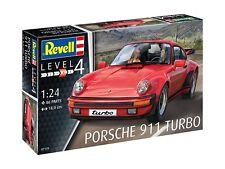 PORSCHE 911 TURBO 1:25 Revell Auto Modelo Equipo 07179