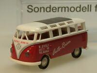 Brekina VW T1 Samba DYSLI Auto-Reisen, Sondermodell CH - 90886 - 1:87
