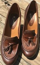 EARTHIES Carenna Brown Leather Pump Sz 9 B