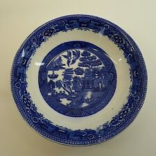 "Blue Willow W R Midwinter Bowl Willow Pattern  5 3/4"" Vintage Made In England"