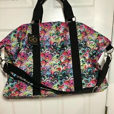 Cynthia Rowley GO Weekend Duffle Bag MARBLE  Colorful Print NWT