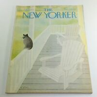 The New Yorker: July 18 1977 Full Magazine/Theme Cover Charles E. Martin