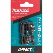 Makita A-97673 Impactx 3 Pc 2″ Socket Adapter Set
