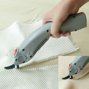 WBT Portable Electric Power Scissors Fabric Leather cutting tool with 2 heads