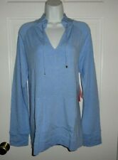 NWT LILLY PULITZER HEATHERED BLUE PERI CASSI LUXLETIC POPOVER XL