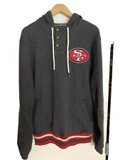 Mitchell and Ness San Francisco 49ers Audible Hoodie L