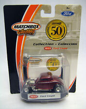Matchbox Collectibles 1933 Ford Coupe 50th Anniversary 1:64 Scale Diecast 96977