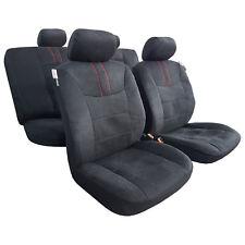 2 Frontal Negro Chaleco protectores de cubiertas de asiento de coche para MAZDA 3