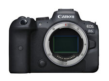 Canon EOS R6 20.1MP Mirrorless Camera - Black (Body Only)