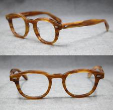 Acetato de diseño de marca 44/46/49mm Marcos De Anteojos Gafas borde completo Johnny Depp
