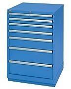 LISTA XSSC0900-0703 - SC900 7-Drawer Counter Height Cabinet, Standard Dept