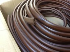 10 METRE BROWN TABLE T TRIM FURNITURE KNOCK ON EDGING VW CAMPER MOTORHOME BOAT