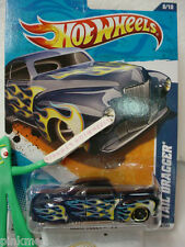 2011 Hot Wheels TAIL DRAGGER #98 ∞New Midnight BLUE∞Heat Fleet∞2012 Case A