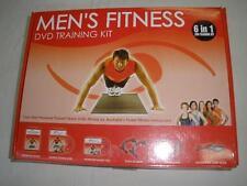 MEN'S FITNESS DVD TRAINING KIT 6 IN 1