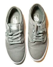 Van's Gray Canvas Men's Skate/casual Shoes. Size 9.5 721461