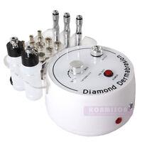 3in1 Skin Tighten Diamond Microdermabrasion Dermabrasion Face Peel Vacuum Spray
