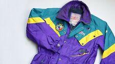 Spyder Vintage Skiing Skiwear Jacket men top size L Large purple RETRO 90s