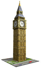 BIG BEN BUILDING WITH CLOCK 3D PUZZLE 216 PIECE RAVENSBURGER JIGSAW