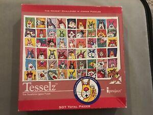 Tesselz 507 piece jigsaw puzzle. Cats