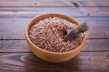 25 Kg Leinsamen Braun Leinsaat Lebensmittel Qualität 25kg