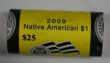 2009-D *Unopened* OBW BU Roll of 25 Sacagawea Native American $1 Dollar Coins