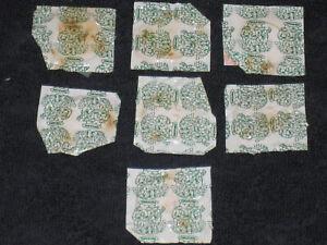 Teenage Mutant Ninja Turtles 7 x unopened Tokens Medal Original Coin 1990 TMNT