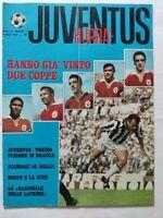 HURRA' JUVENTUS N. 5 MAGGIO 1968 BONIPERTI BENFICA COPPA DEI CAMPIONI EUSEBIO
