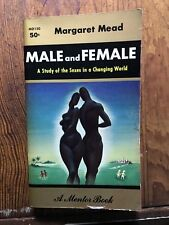 Male and Female a study of the sexes in a changing world MD 150