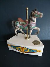 Vintage Carousel Music Box by Willitts Designs Tobin Fraley Limited Edition
