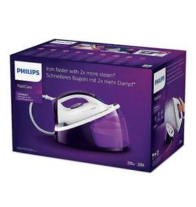 Philips GC6730/36 2400w Steam Generator Iron - Purple/White Brand New