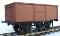 Cambrian C8 OO Gauge LMS 16t Steel Mineral Wagon Kit