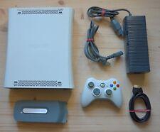 Xb360-Microsoft XBOX 360 console con ORIGI. Controller (buono stato)