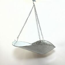 Hanging Scale Scoop Tray Bucket with Chains for Easy Pouring Produce Feed Bolts
