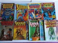 Murray Comics x 11, Aus Comics.JLA,Superman/Girl/Team,Savage Tales,Swamp Monster