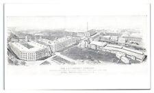 Aerial View of the L.S. Starrett Co, Athol, MA Postcard