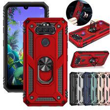 For LG Phoenix 5/Aristo 5/5+ Plus/Fortune 3/Risio 4 Kickstand Ring Case Cover